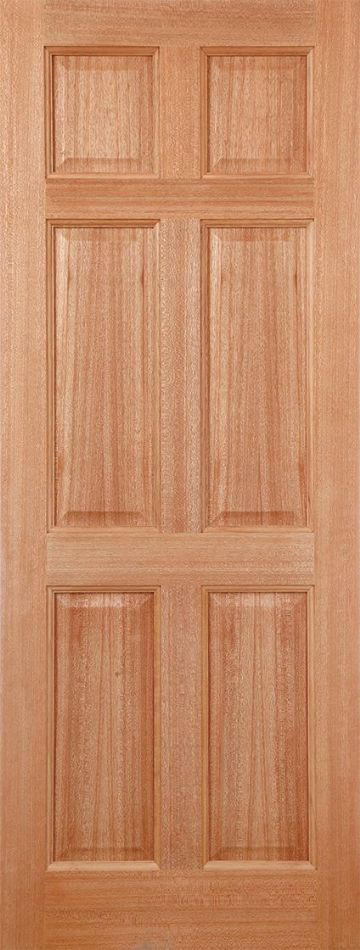 Hardwood Colonial Dowelled (6P)